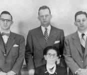 Alven, Gerald, Leonard and Dora Ghertner 012