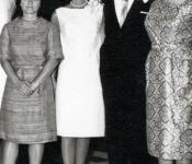 Frank (Alven) and Barbara Smith's Wedding - Norman, Ok 1963