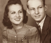 Janice Magid and Gerald Ghertner Engaged 1939