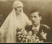Anutza & Oscar Ghertner wedding picture