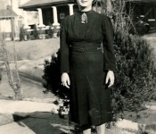 1938 Sarah Gruber (Leslie's mother)