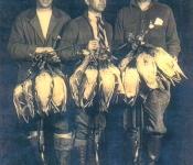 Duck hunters 1930s