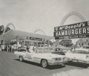 McDonald's Grand opeing in Pine bluff 1962