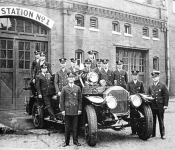 THE PINE BLUFF FIRE DEPARTMENT IN 1914