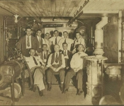 training for Cotton Belt shops 1940s