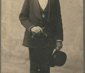 1910 Pappy at his Bar Mitzvah