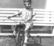 Dad on Tricycle