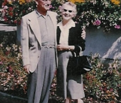 Em and Pappy in Germany