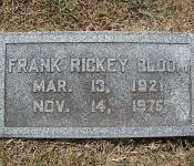 frank rickey bloom jr