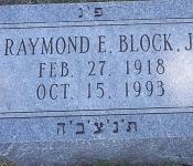 raymond emile block jr