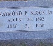 raymond emile block sr
