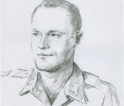 2nd Lt  Arthur Chapman (Burnley Sketch)003