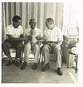 Four generations - Leslie, Lous, Jay, Paul Gruber