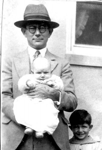 Pappy and children 1927