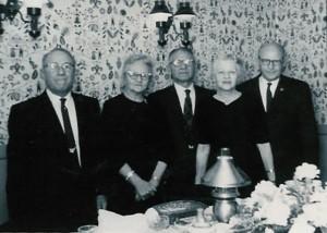 Samuel Alexander, Emma Marie, Lewis Solomon, Jessie Grace & Raymond Emile Block 1960s