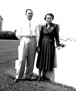 Eduard Lynton Scharff and Bette Catherine Terry