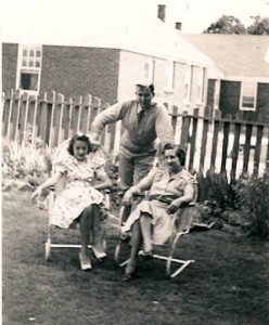Leslie Gruber (on leave) , his mother Sarah and Harriet