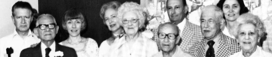 Lewis & Sam Block, Em Scharff Families circa 1980