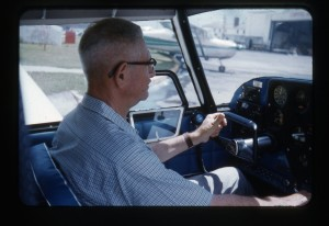 Pappy at controls of Comanche