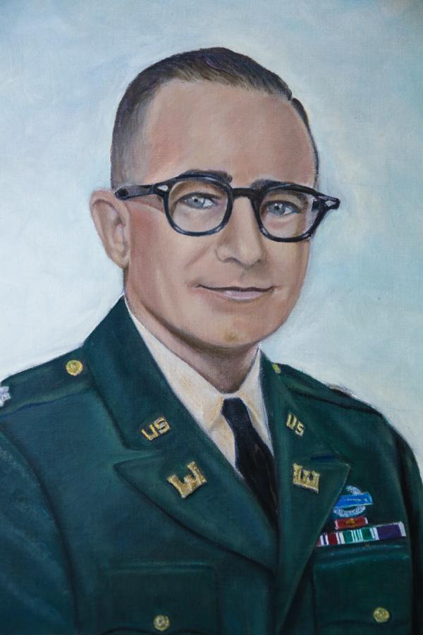 Lt. Col. Eduard Lynton Scharff,  U.S. Army, Ret.