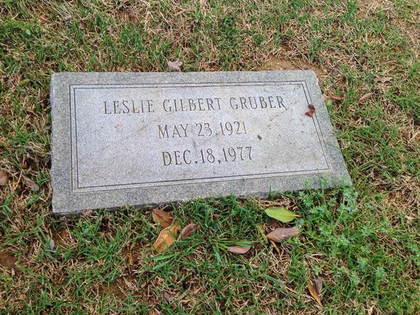 Leslie Gilbert Gruber (1923-1977)
